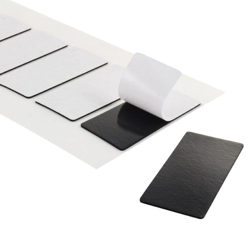 schwarze klebepads beidseitig klebend klebeshop24. Black Bedroom Furniture Sets. Home Design Ideas
