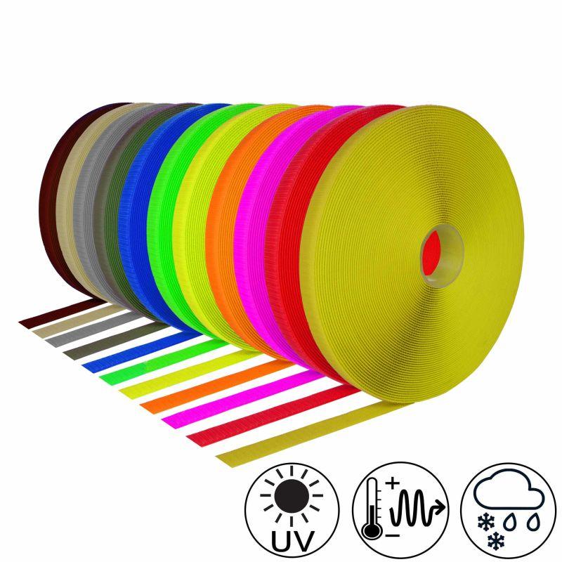 Haken /& Flausch 5 m Klettband Klettverschluß verschiedene Farben und Breiten