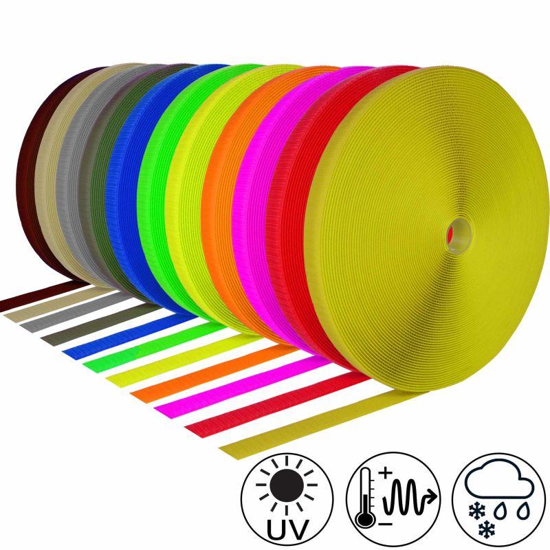 selbstklebendes klettband farbig von klebeshop24. Black Bedroom Furniture Sets. Home Design Ideas