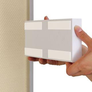 1 mm dick 25 x 50 mm Befestigungs-Klebestreifen doppelseitig
